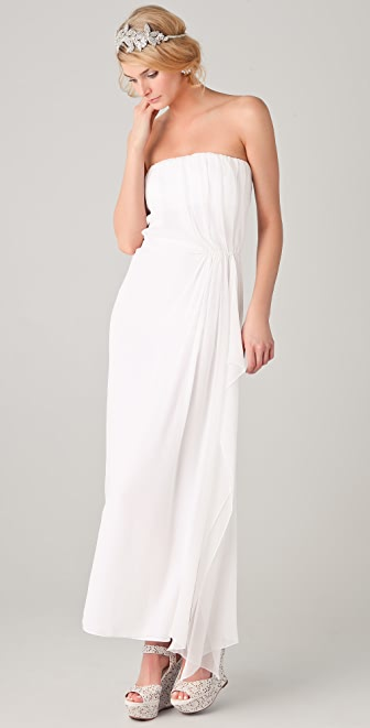 alice + olivia Ty Strapless Dress