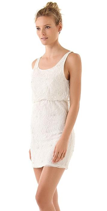 alice + olivia Gabby Embellished Tank Dress