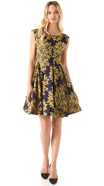 alice + olivia Reese Flare Dress