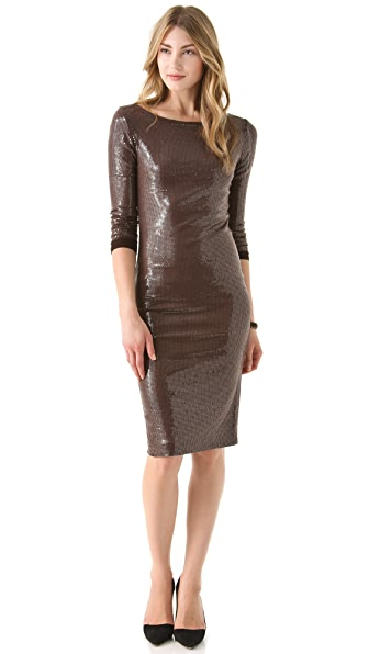 alice + olivia Tabitha Fitted Dress