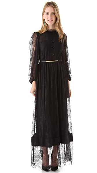 alice + olivia Baylee High Neck Dress