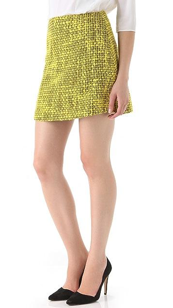 alice + olivia Gianna A Line Skirt