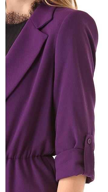 alice + olivia Ena Notched Collar Jacket