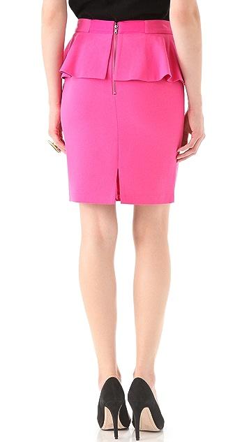 alice + olivia Roset Peplum Skirt