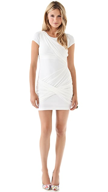 alice + olivia Short Sleeve Goddess Dress