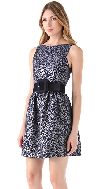 alice + olivia Lillyanne Sleeveless Mini Dress