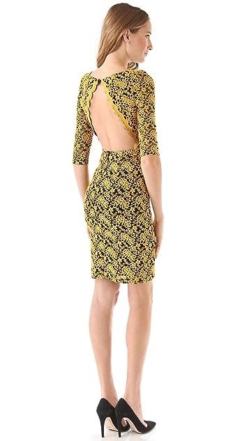 alice + olivia March Lace Dress