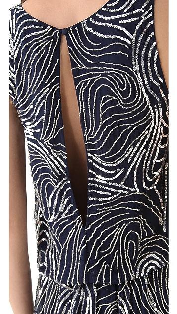 alice + olivia Cindy Drop Waist Dress