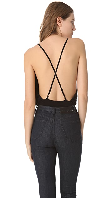 alice + olivia Lace Ballerina Bodysuit