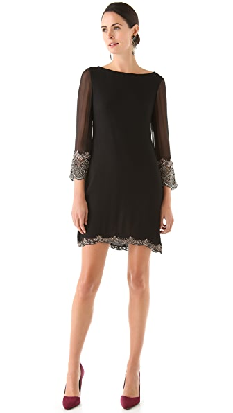 alice + olivia Frieda Beaded Dress