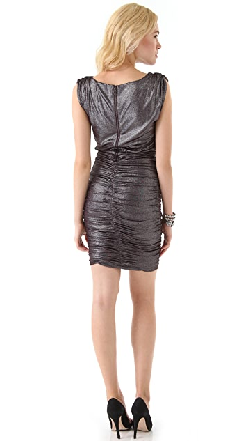alice + olivia Alysha Ruched Dress