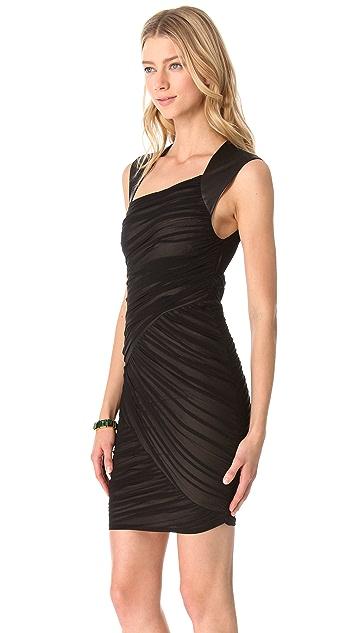alice + olivia Mitzie Zig Zag Dress