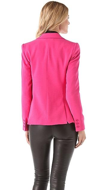 alice + olivia Elyse One Button Blazer