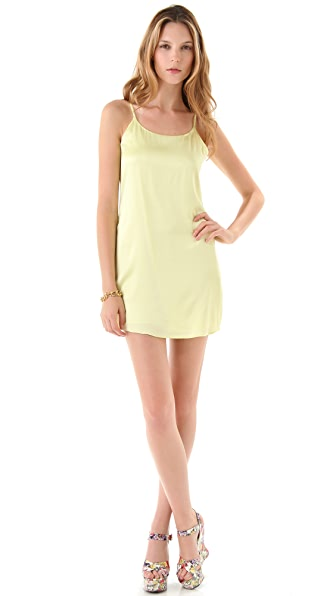 alice + olivia Russel Slip Dress