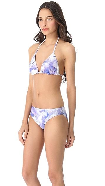 alice + olivia Triangle Bikini Top