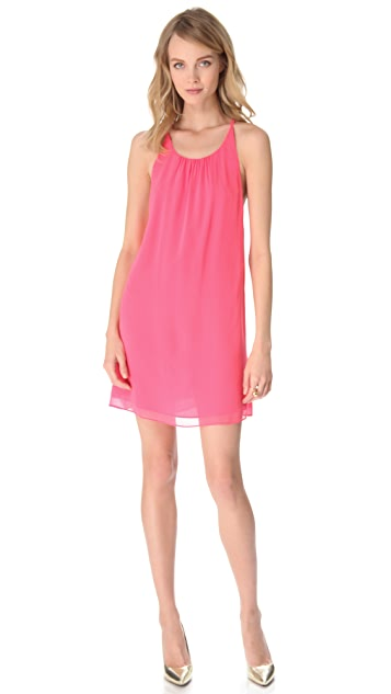 alice + olivia Peggy Trapeze Dress
