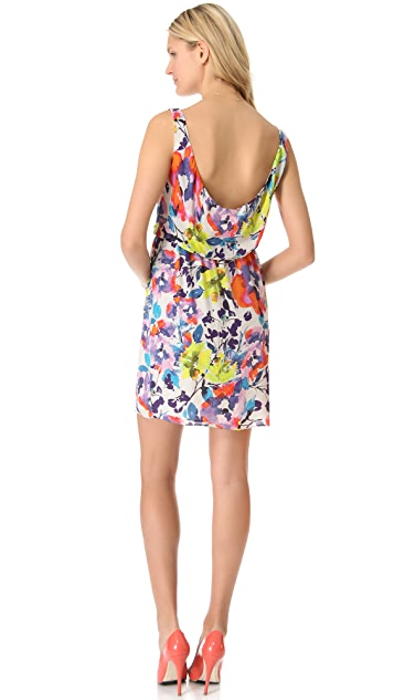 alice + olivia Roi Tank Blouson Dress