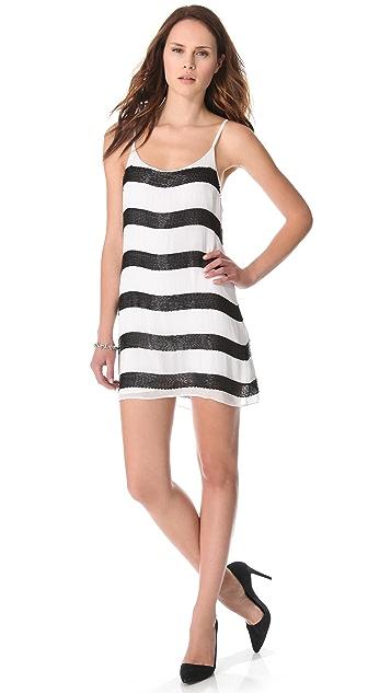 alice + olivia Beaded Slip Dress