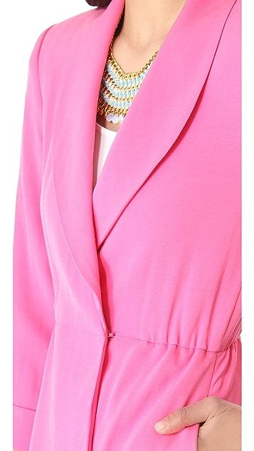 alice + olivia Landra Wrap Jacket