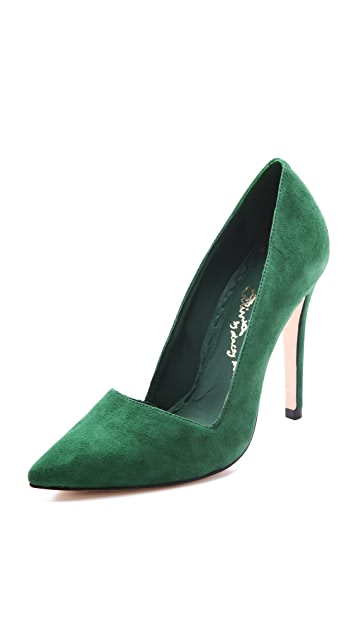 alice + olivia Dina Suede Pumps