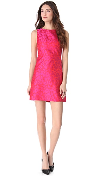 alice + olivia Marlene A-Line Dress