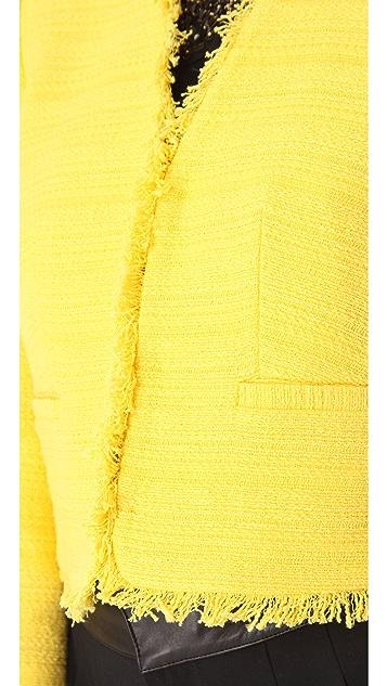 alice + olivia Princeton Box Jacket