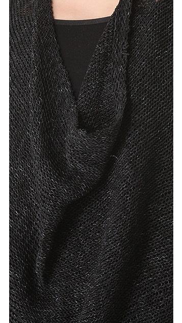 alice + olivia Cristiane Draped Sweater