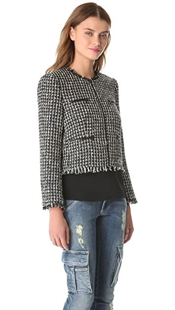 alice + olivia Zipped Box Jacket