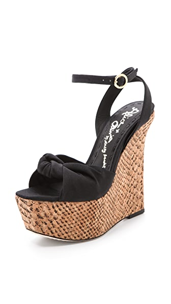 alice + olivia Ilise Wedge Sandals