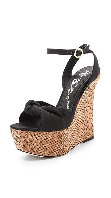 alice + olivia Ilise Wedge Sandals