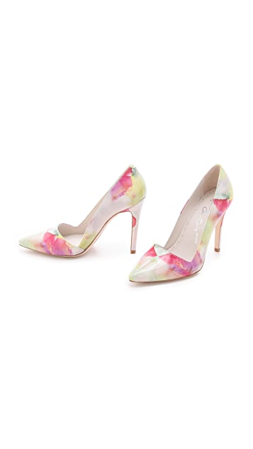 alice + olivia Dina Watercolor Pumps