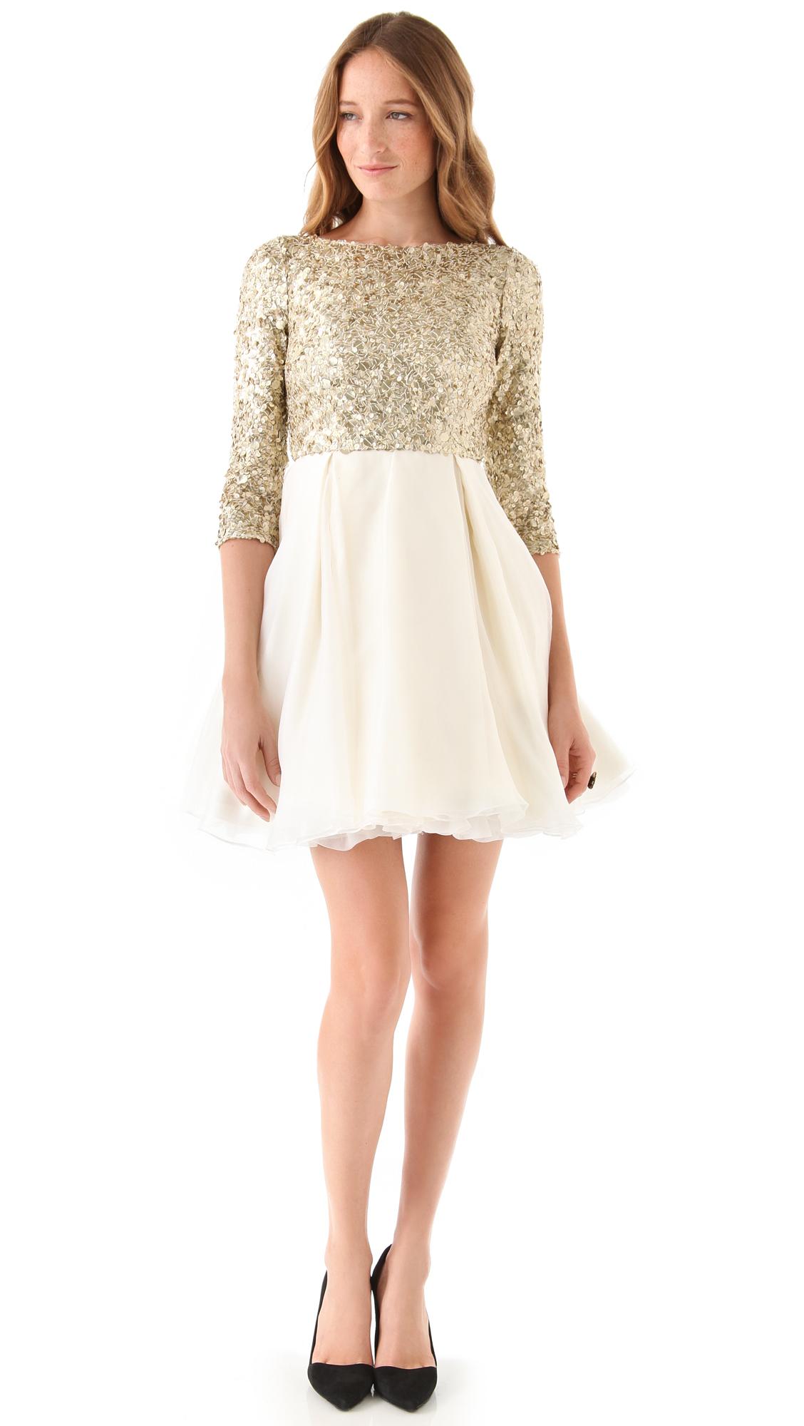 alice   olivia Azala Sequined Dress  SHOPBOP
