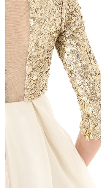 alice + olivia Azala Sequined Dress