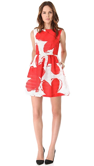alice + olivia Puff Skirt Dress