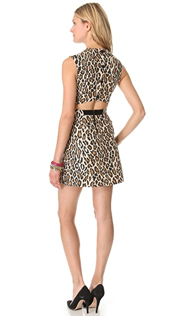 alice + olivia Leopard Shift Dress