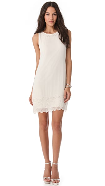 alice + olivia Beaded Trapeze Dress