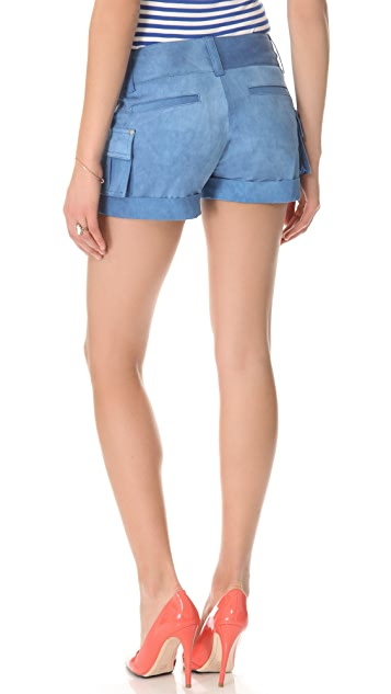 alice + olivia Cady Cargo Shorts