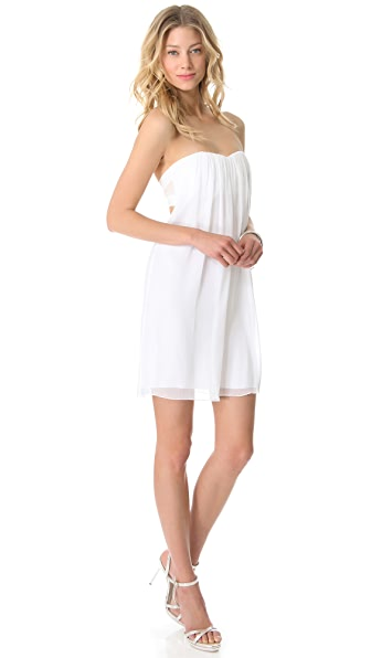 alice   olivia Center Drape Strapless Dress  SHOPBOP