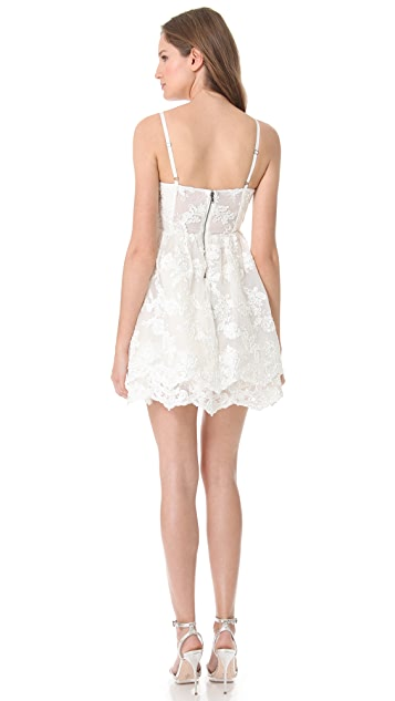 alice + olivia Poof Skirt Tank Dress
