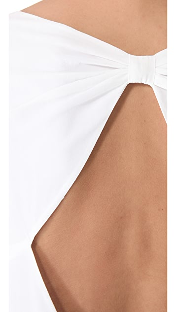 alice + olivia Bow Back Tunic Dress