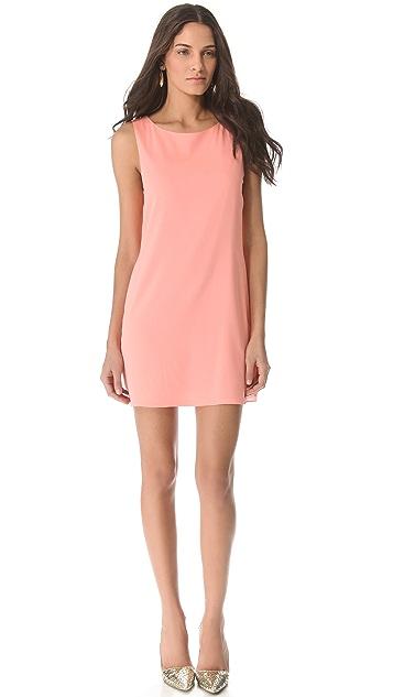 alice + olivia Bow Back Tunic Dress