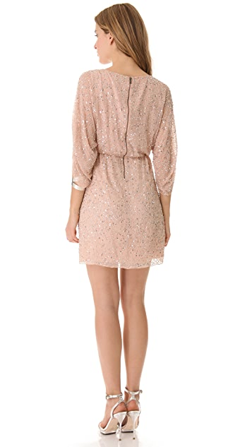 alice + olivia Embellished Tunic Dress