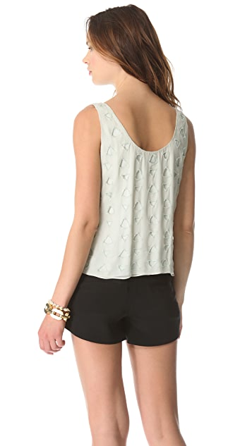 alice + olivia Beaded Tank Top