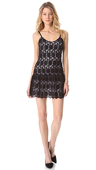 alice + olivia Tatyana Tank Dress
