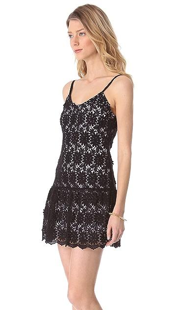 alice + olivia Tatyana Tank Dress