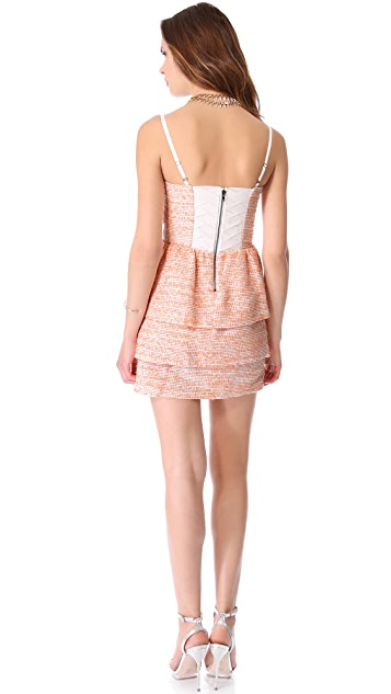 alice + olivia Shellyanne Tiered Dress