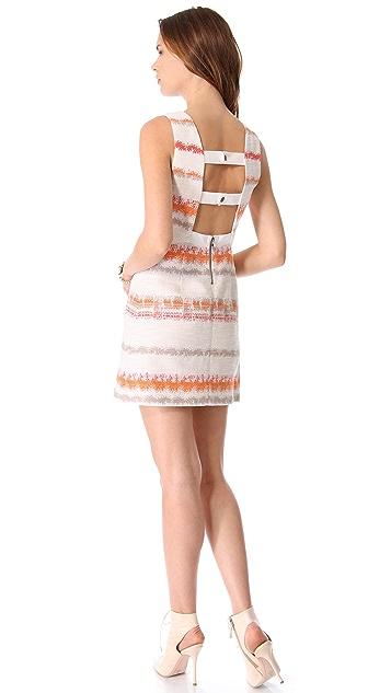 alice + olivia Everleigh Sleeveless Dress