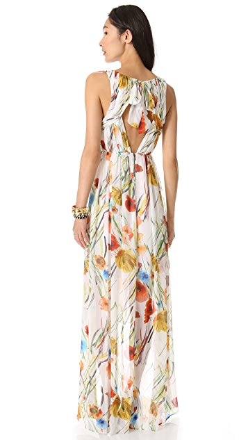 alice + olivia Mel Open Back Dress