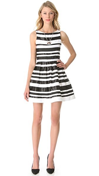 alice + olivia Cookie Flare Dress