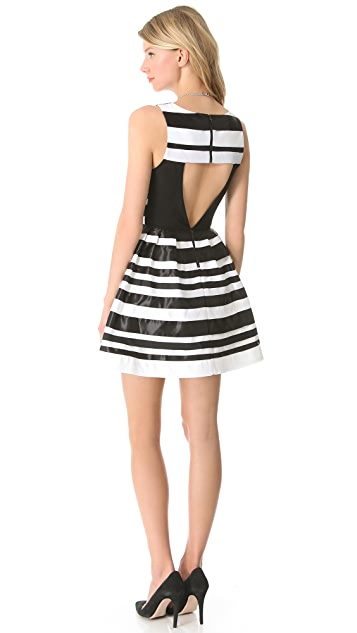 alice + olivia Cookie Flare Dress
